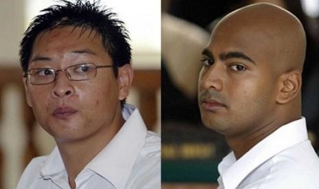 duo Bali Nine terpidana mati.