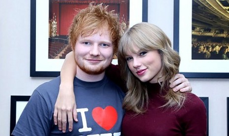 Ed Sheeran Sanggah Lagu Tayor Swift Tentangnya