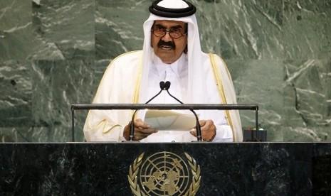 Bersejarah, Emir Qatar Jadi Pemimpin Arab Pertama ke Gaza