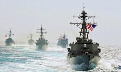 Empat kapal destroyer yang membuat Rusia panas.