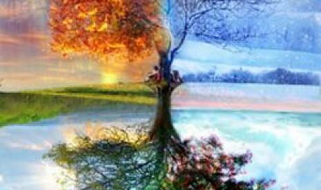 Empat Musim (ilustrasi)