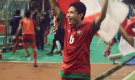 Evan Dimas, kapten Timnas U-19