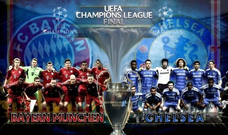 Final Liga Champion: Data Dan Fakta Seputar Chelsea Vs Bayern Munchen