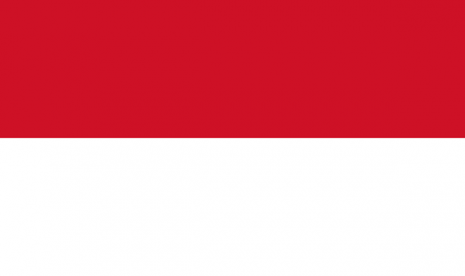 Flag of Indonesia (illustration)