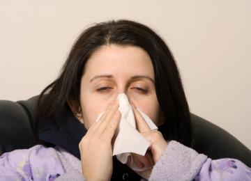 Flu. Ilustrasi