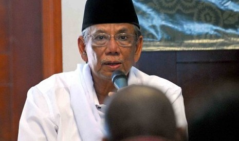 Former chairman of the Nahdatul Ulama (PBNU), Hasyim Muzadi (file photo)