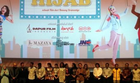 Bercerita tentang Bisnis Online, Indosat Sponsori Film HIJAB