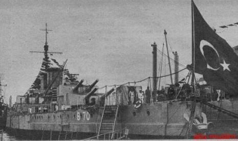 Galangan kapal Turki Usmani.