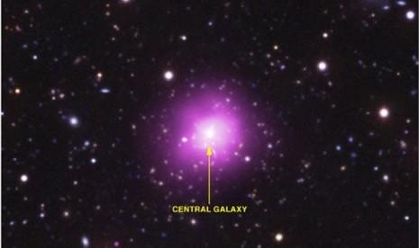Astronom AS Temukan Galaxi Raksasa