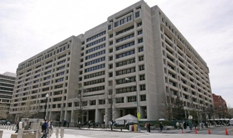 Gedung Dana Moneter Internasional (IMF) Washington DC