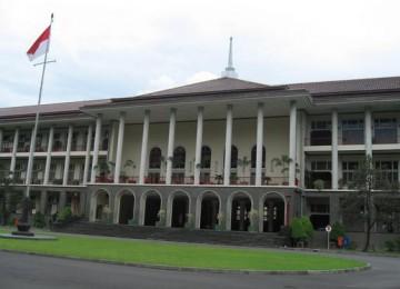 Gedung pusat  kampus UGM