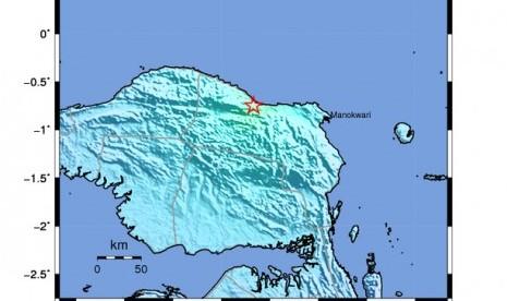 Gempa 5,6 SR Mengguncang Manokwari