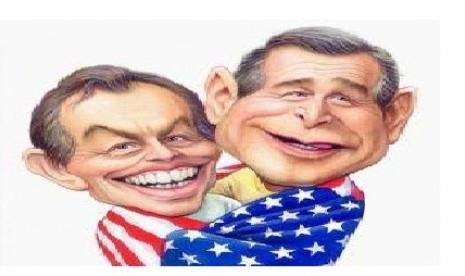 Percakapan Bush dan Blair Jelang Serang Irak