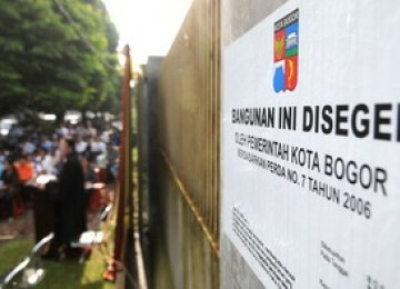 Gereja Kristen Indonesia Yasmin disegel