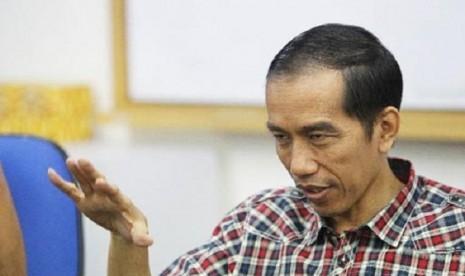 Gubernur DKI Jakarta, Joko Widodo alias Jokowi.