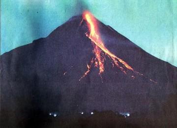 Gunung Merapi, ilustrasi