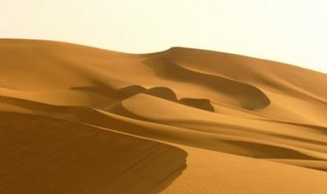 Gurun pasir.