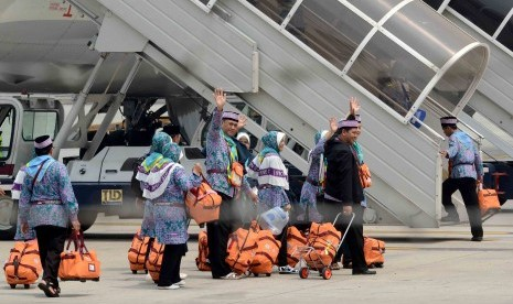 Hajj pilgrims from Banten are ready to depart for Saudi Arabia on Friday afternoon. About  211,000 people departs for pilgrimage in Mecca, Saudi Arabia, this year.