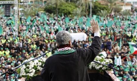 Damai dengan Fatah, Hamas Pawai di Tepi Barat