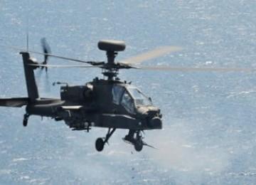 Helikopter Apache angkatan darat Inggris