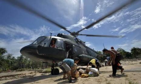 Helikopter Mi-17 milik TNI AD.