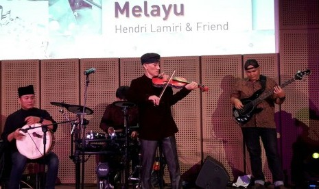 Hendri Lamiri Gelar Konser Gema Tanah Melayu