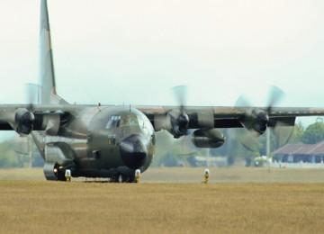 Hercules C 130 milik TNI AU