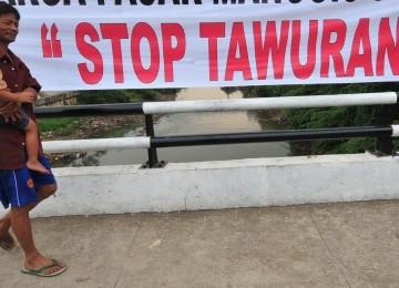 Himbauan stop tawuran