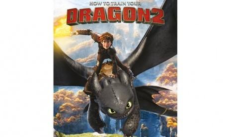 'How to Train Your Dragon 2' Jadi Film Animasi Terlaris 2014