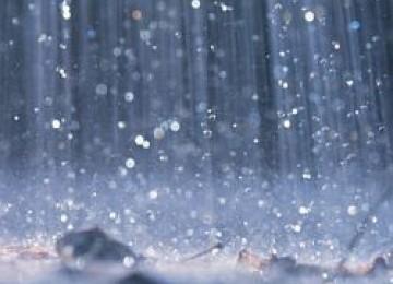 Hujan, ilustrasi