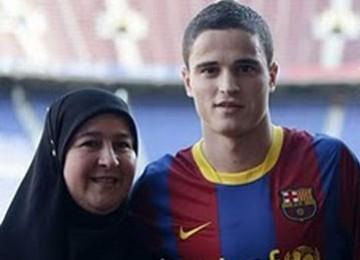 Ibrahim Afellay dan ibundanya