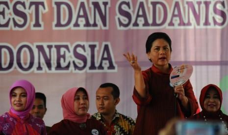 Ibu Negara Tinjau Fasilitas PAUD di Pekanbaru