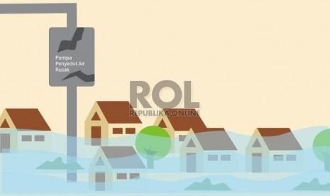 Belasan Rumah di Lumajang Terendam Banjir