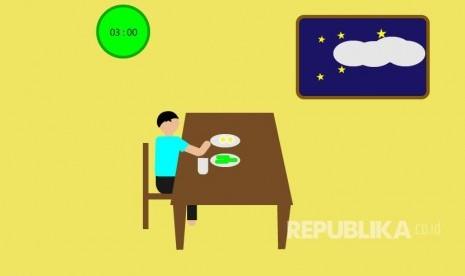 Makan Sahur Jangan Berlebihan
