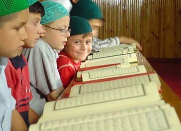 Ilustrasi: anak baca quran
