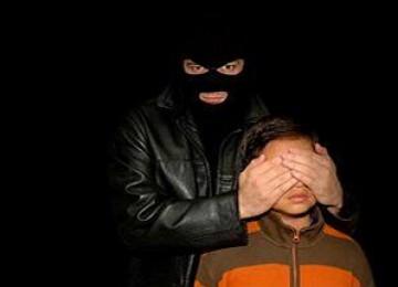 Ilustrasi penculikan anak.