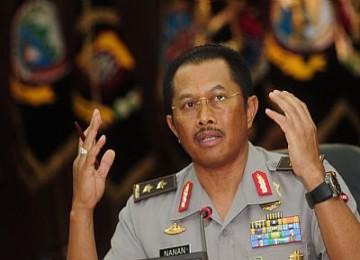 Inspektur Pengawasan Umum Komjen Pol Nanan Soekarna