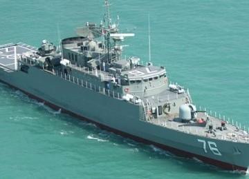 Iran telah berhasil memproduksi kapal perusak bernama Jamaran
