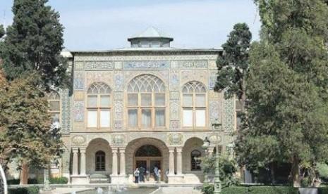 Istana Golestan, Iran