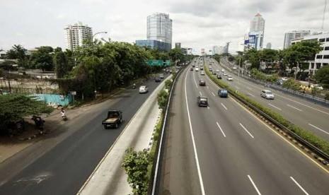 3 Hari Banjir Lalu Lintas Jakarta Sepi