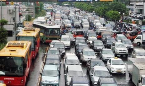 Jakarta masuk dalam sepuluh kota termacet di dunia.