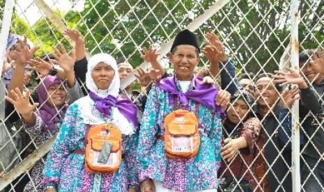 Jamaah haji Indonesia (ilustrasi).