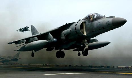 Pesawat jet. Ilustrasi