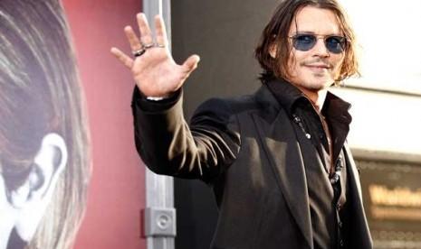 Johnny Depp Main Film Bareng Anak