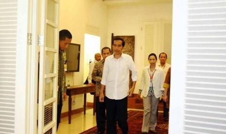 Hujan Rintik Sambut Kedatangan Jokowi di Sydney