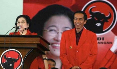 Jokowi dan Megawati