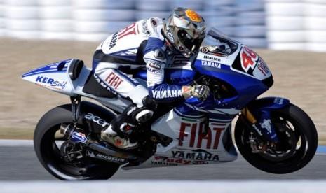 Juara di Seri Perdana. Pebalab Yamaha Factory Racing, Jorge Lorenzo keluar sebagai yang tercepat dalam seri pertama MotoGP musim 2012.