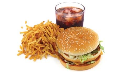 Junk Food (ilustrasi)
