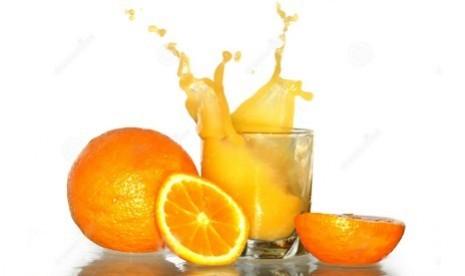 Jus jeruk (ilustrasi)