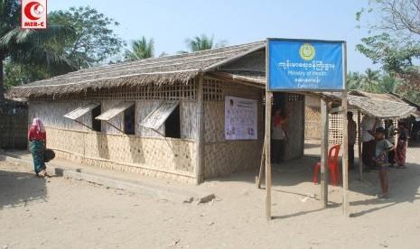 Kamp Muslim Rohingya, Myanmar